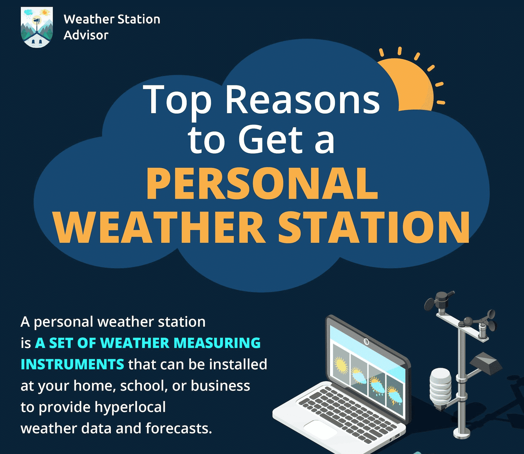 Why you should get a personal weather station